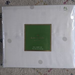 Kate Spade full sheet set 100% cotton